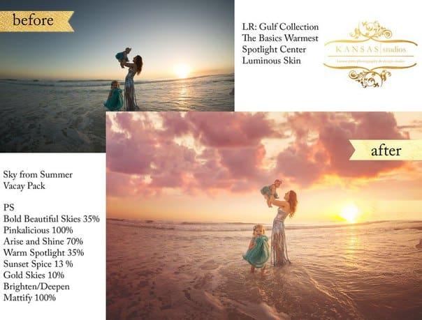 Пресет Photoshop Actions + ACR Presets + Lightroom Presets для lightroom