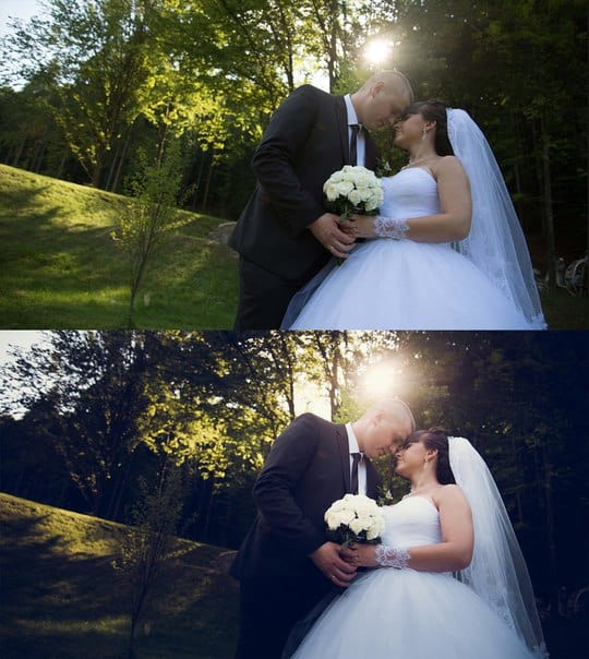 Пресет Свадебный для lightroom