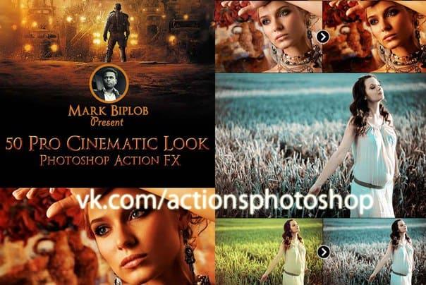 Пресет GraphicRiver 50 Pro Cinematic Photoshop Action FX для lightroom