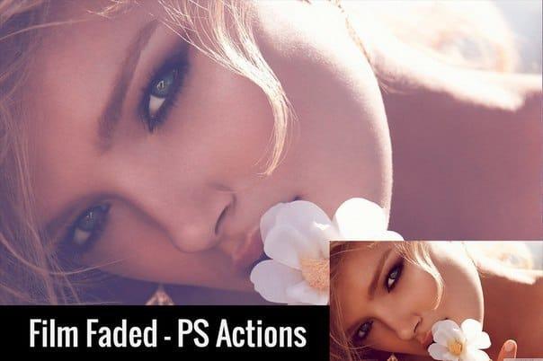 Пресет Film Faded - PS Actions для lightroom