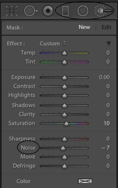 Пресет Как снизить шум на фотографиях в Lightroom? для lightroom