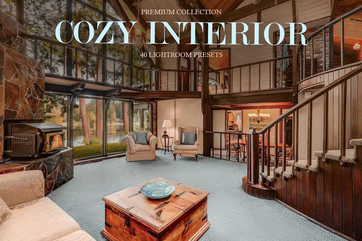 Пресет Cozy Interior для lightroom