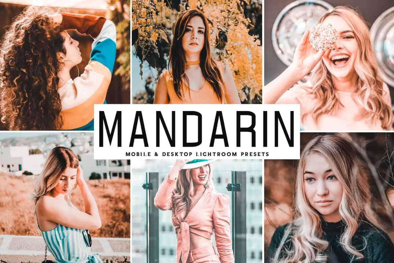 Пресет Mandarin для lightroom