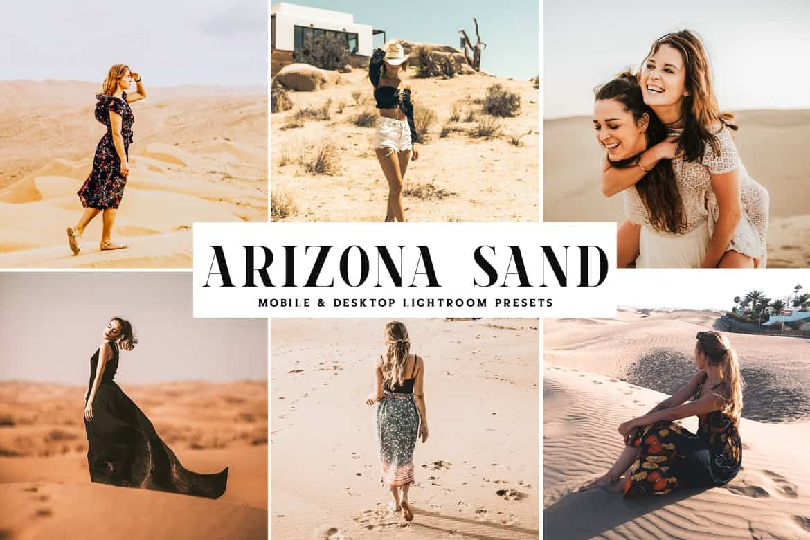 Пресет Arizona Sand для lightroom