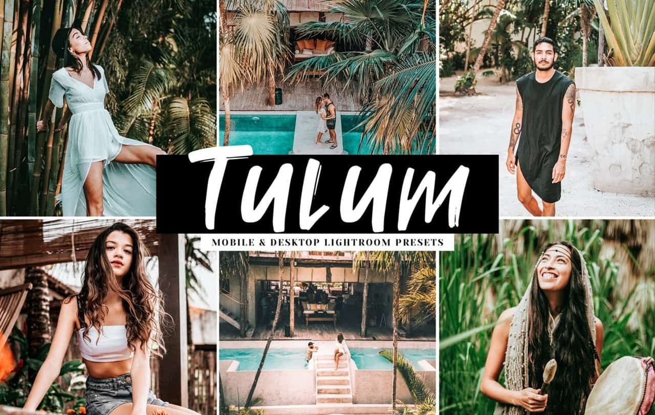 Пресет Tulum для lightroom