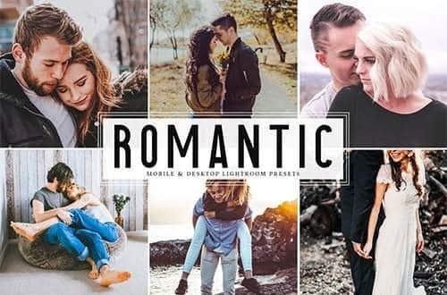 Пресет Romantic для lightroom