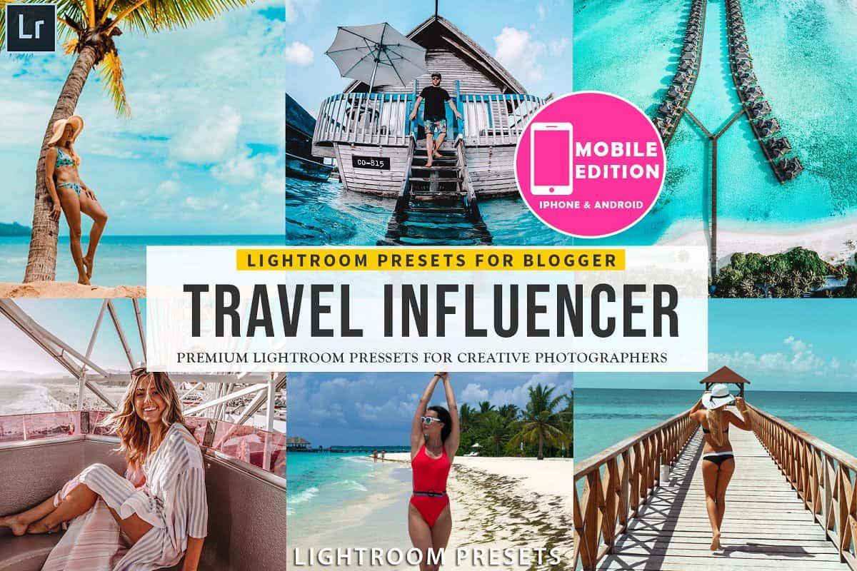 Пресет Travel Influencer для lightroom