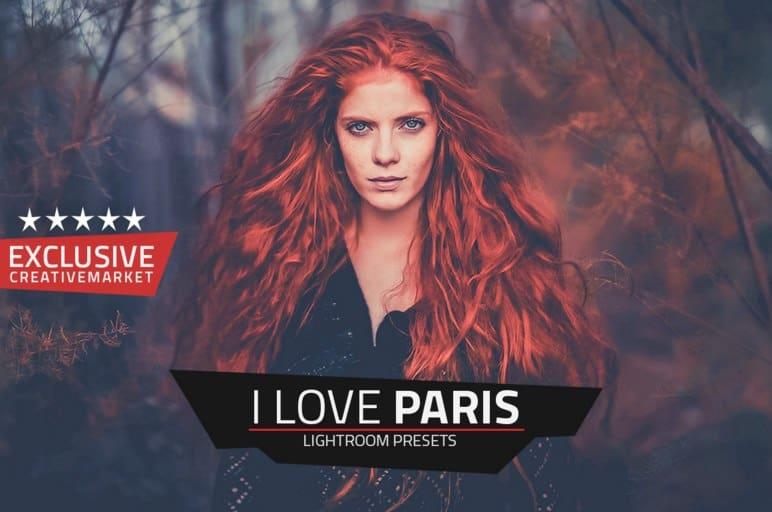 Пресет I love Paris для lightroom