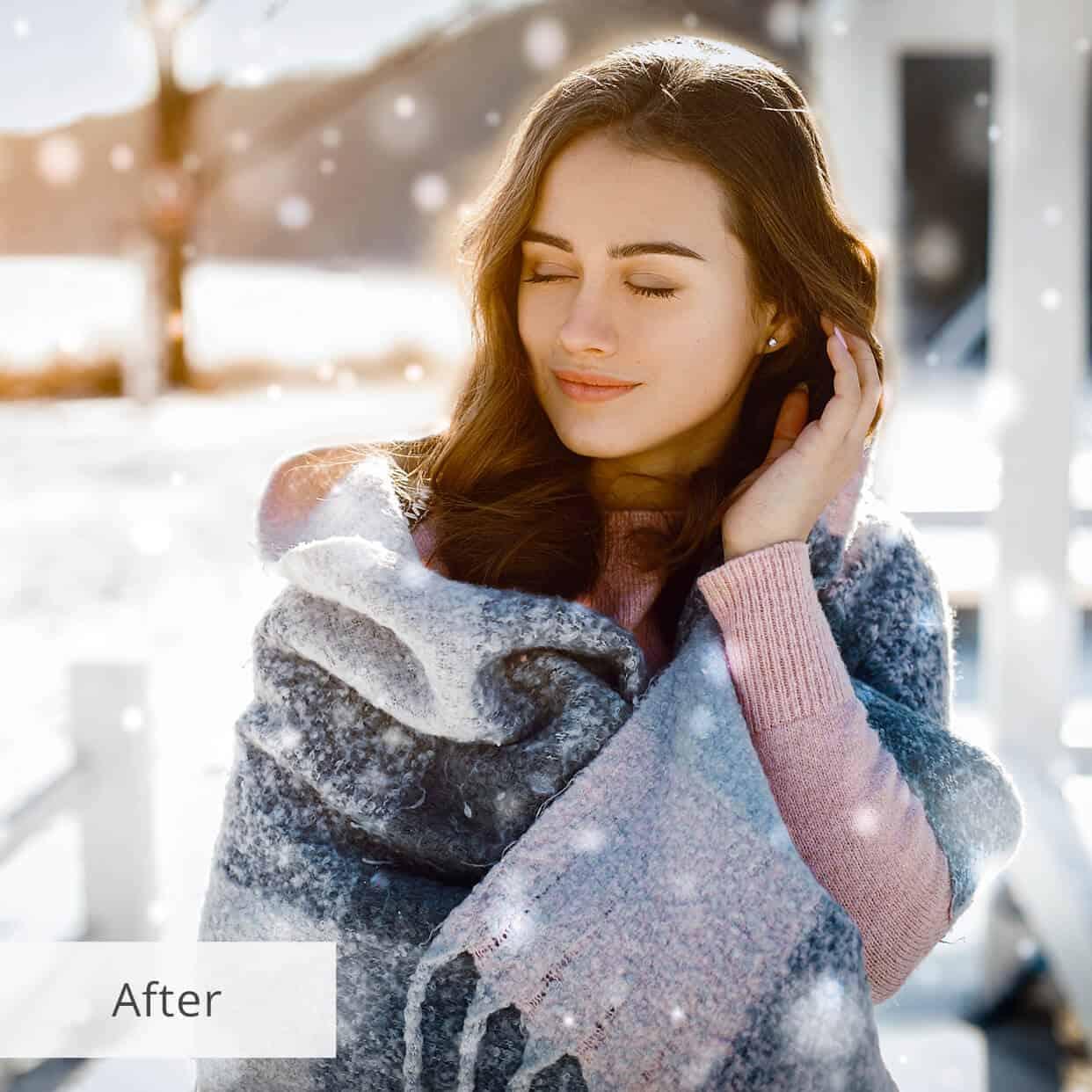 Пресет Snow Fairy Tale для lightroom