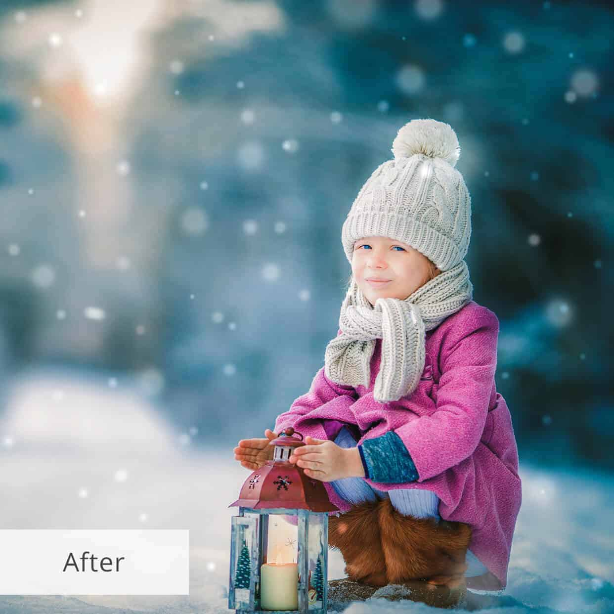 Пресет Snow Miracle для lightroom